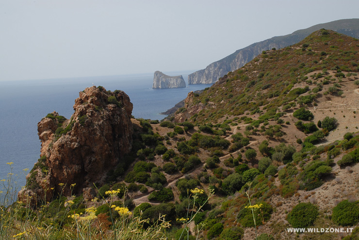 Nebida coast - South-west Sardinia